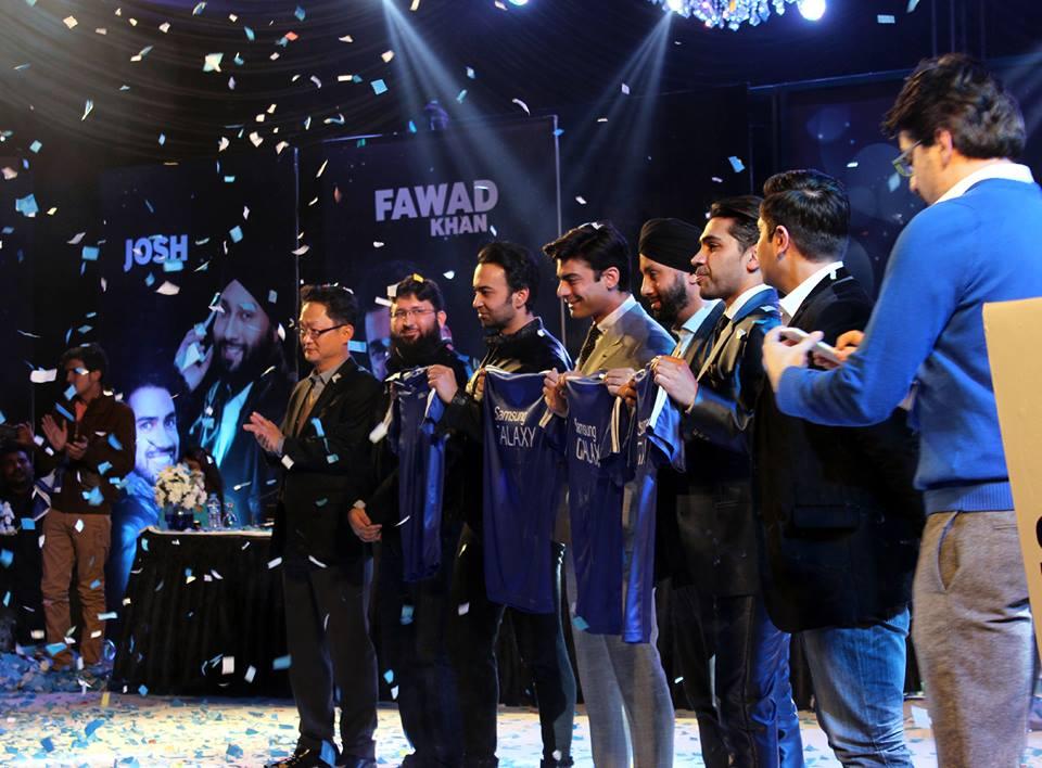 Fawad Khan, Farhad Humayun & Josh Band New Ambassador Of Samsung Pakistan