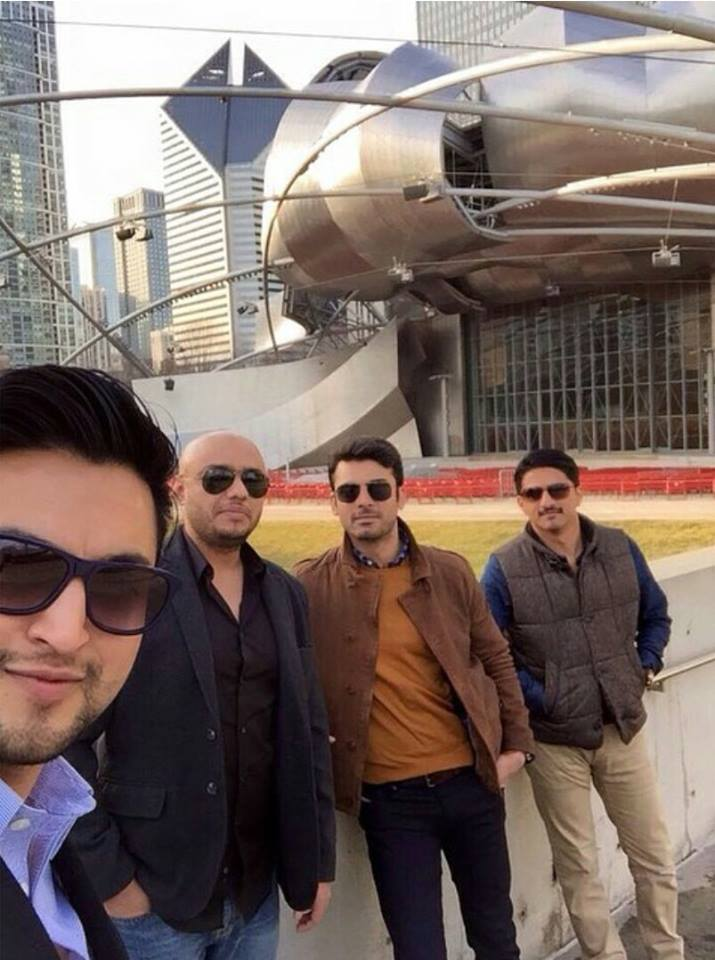 Fawad Khan In Chicago
