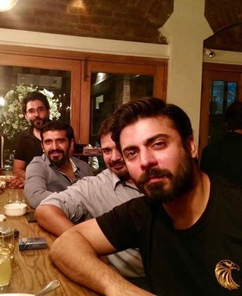 Fawad Khan With His Buddies