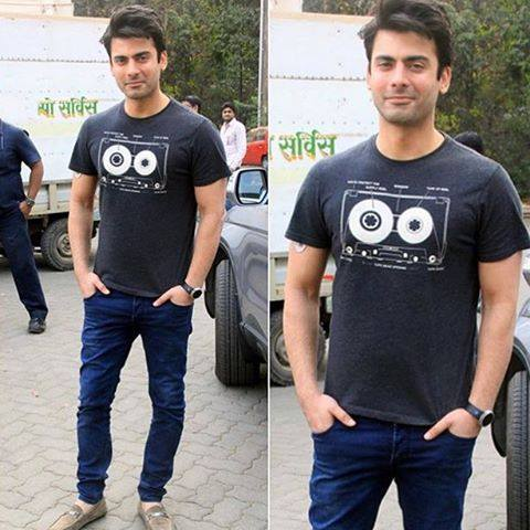 Fawad Khan at Mehboob Studio Mumbai