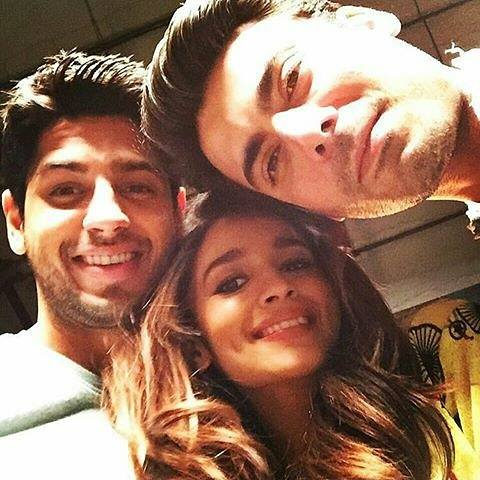 Fawad Khan‬ selfie with other leads of film