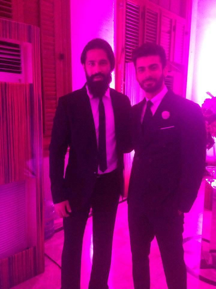 Fawad khan With Famous Model Abbas Jafferi