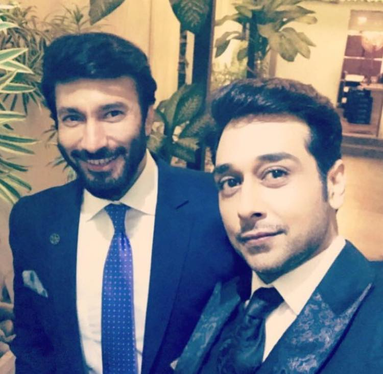 Faysal Quraishi And Aijaz Aslam In Wedding
