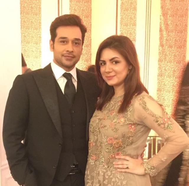 Faysal Qureshi With His Wife