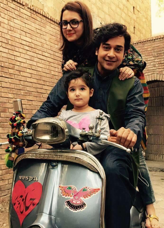 Faysal Qureshi's cute family