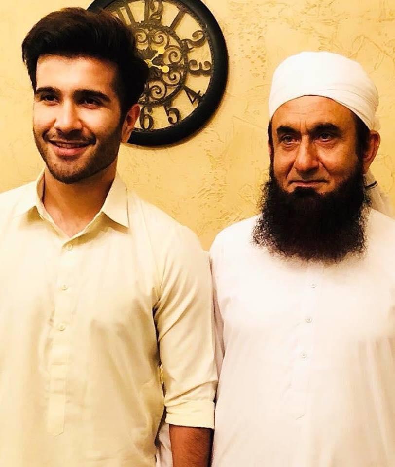 Feroze Khan Meets Maulana Tariq Jameel