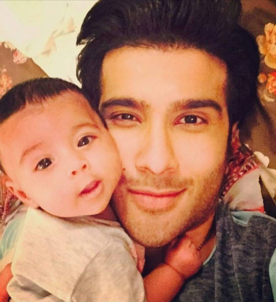 Feroze Khan With His Niece