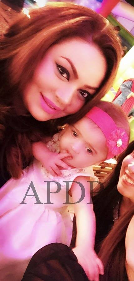 First Picture Of Sadia Imam With Her Daughter