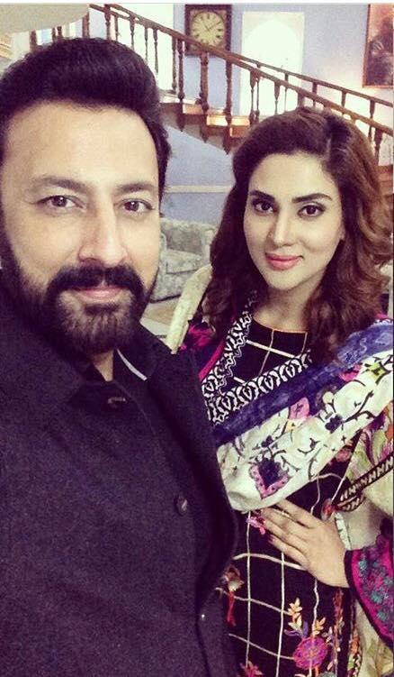 Fiza Ali With Babar Ali