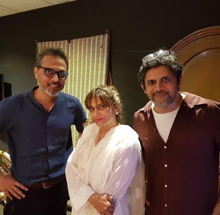Frieha Altaf With Faisal And Bilal