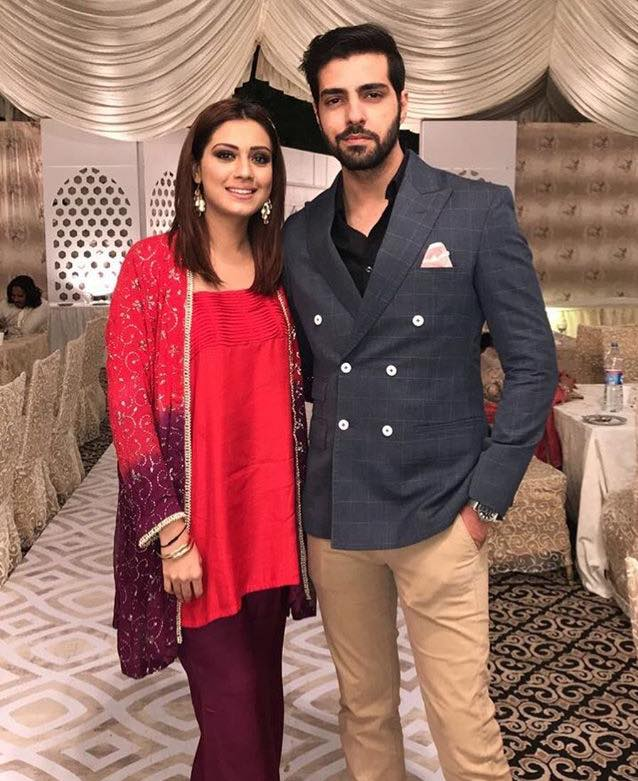 Furqan Qureshi With His Wife