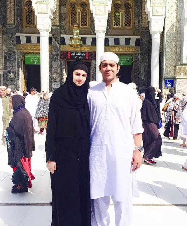 Goher Mumtaz & Wife Anam Performed Umrah