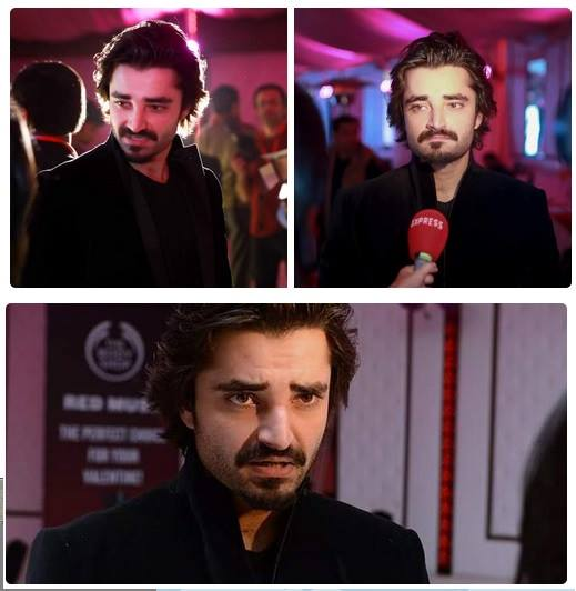 Hamza Ali Abbasi At ‪Red Musk‬ Launch Event In Islamabad
