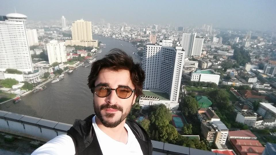 Hamza Ali Abbasi In Bangkok