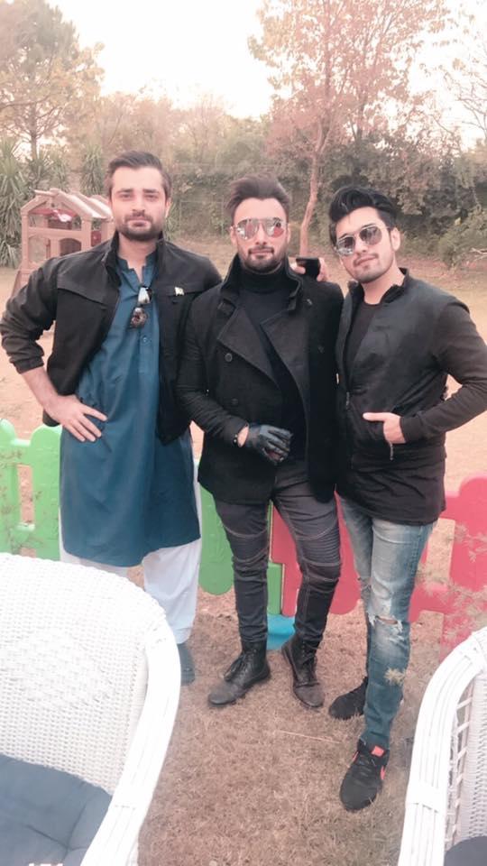 Hamza Ali Abbasi With Umair Jaswal & Uzair Jaswal