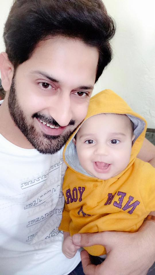 Hanan Sameed With His Son Rohaan