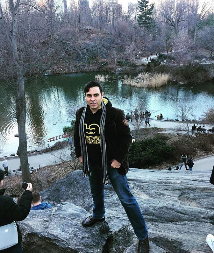 Haroon At The Central Park In New York City