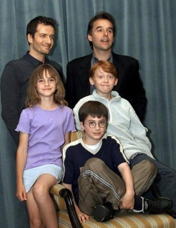 Harry Potter cast announced back in 2000