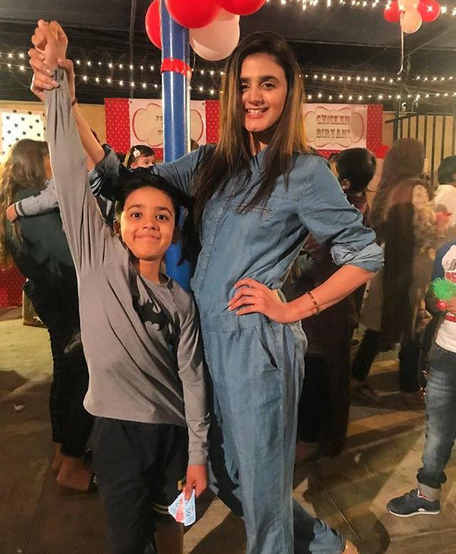 Hira Salman With Her Son