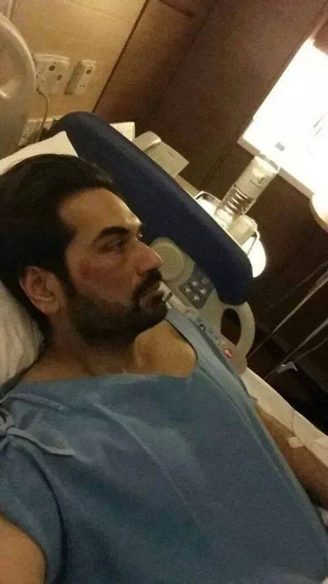 Humayun Saeed In Hospital