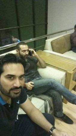 Humayun Saeed Just Before Accident