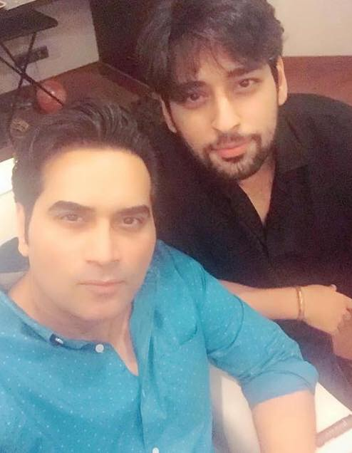 Humayun Saeed With His Brother