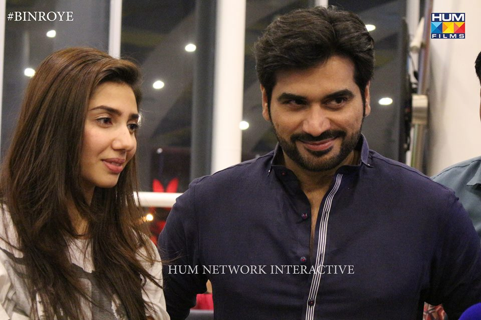Humayun Saeed‬ and ‪‎Mahira Khan‬ At Nueplex