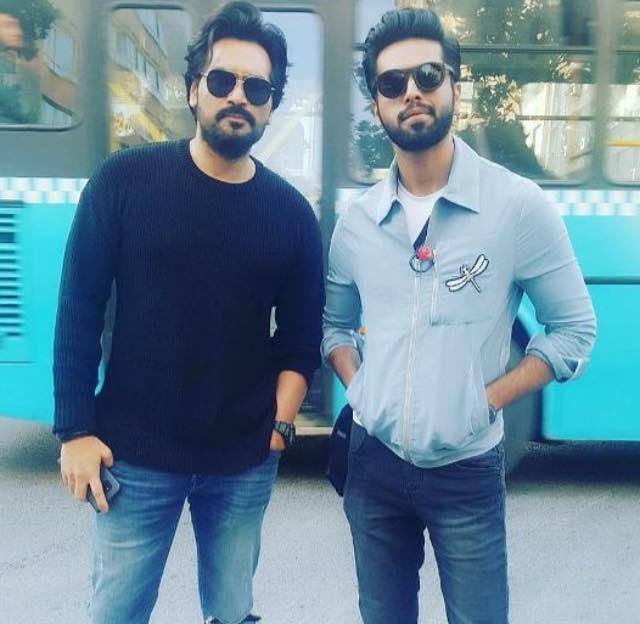 Humayun Saeed & Fahad Mustafa In Turkey