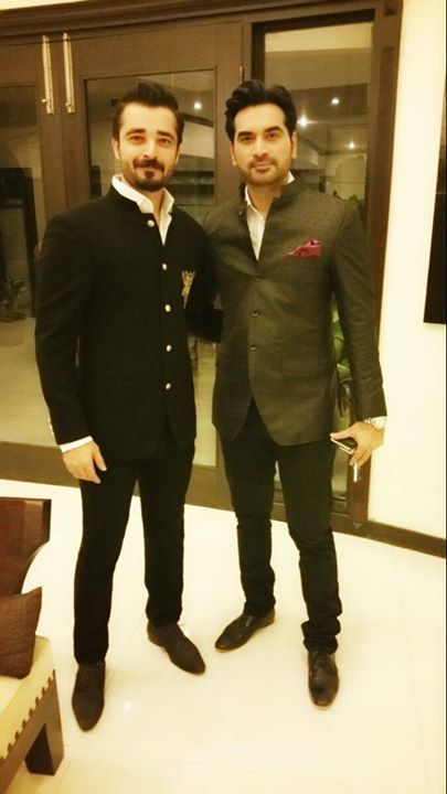 Humayun Saeed and Hamza Ali Abbasi in LSA 2015