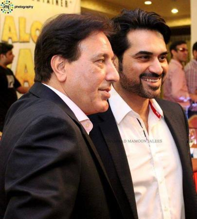 Humayun Saeed & Javed Sheikh At Music Launch Of Na Maloom Afraad