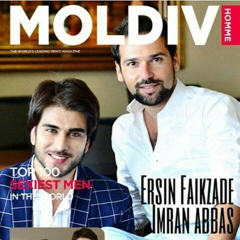 Imran Abbas On Cover Of Turkish Magazine