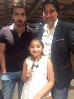 Imran Abbas, Saud & His Daughter