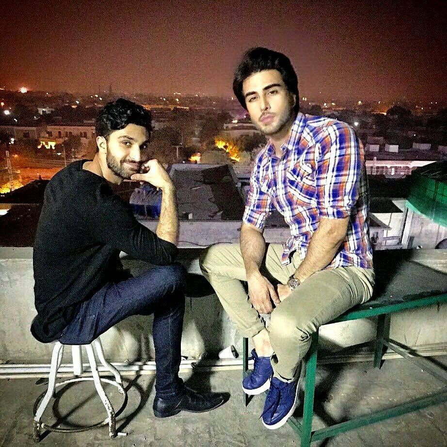 Imran Abbas Together With Ahad Raza Mir