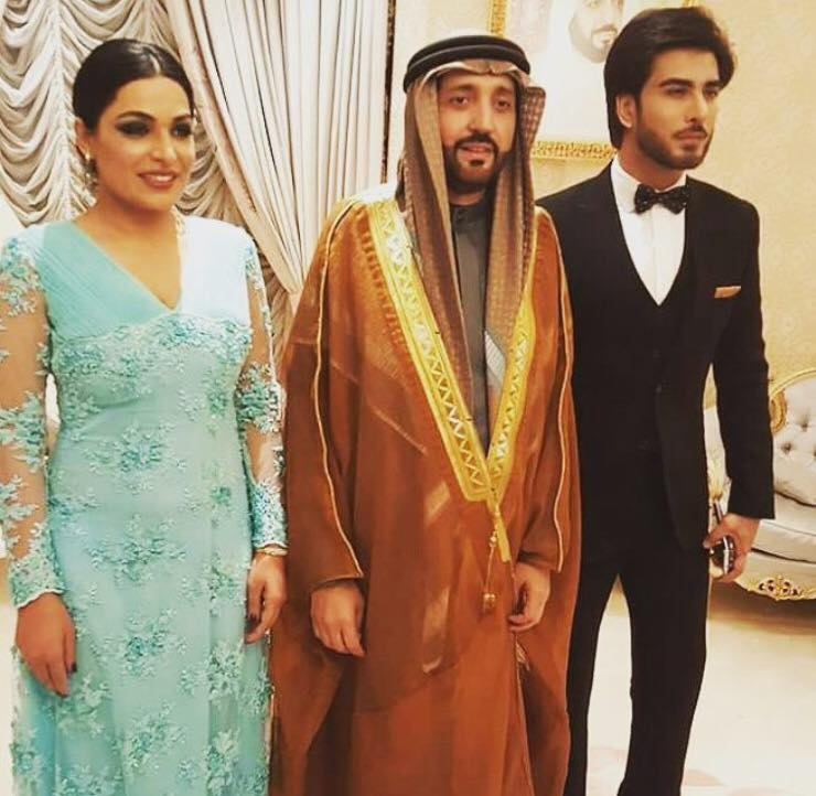 Imran Abbas & Meera Attended Dinner Hosted By Zuhail Mohd Al Zarooni