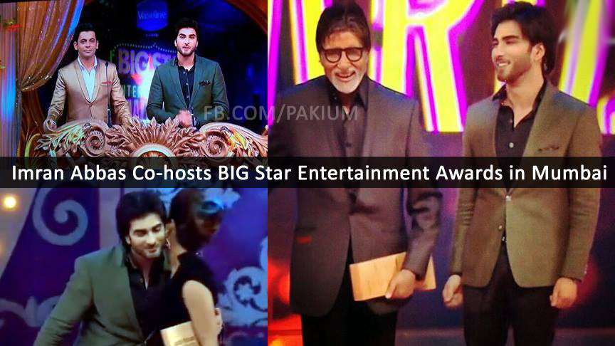 Imran Abbas co-hosts Big Star Entertainment Awards in Mumbai