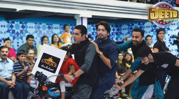 Iqrar Ul Hassan And Waseem Badami In Jeeto Pakistan