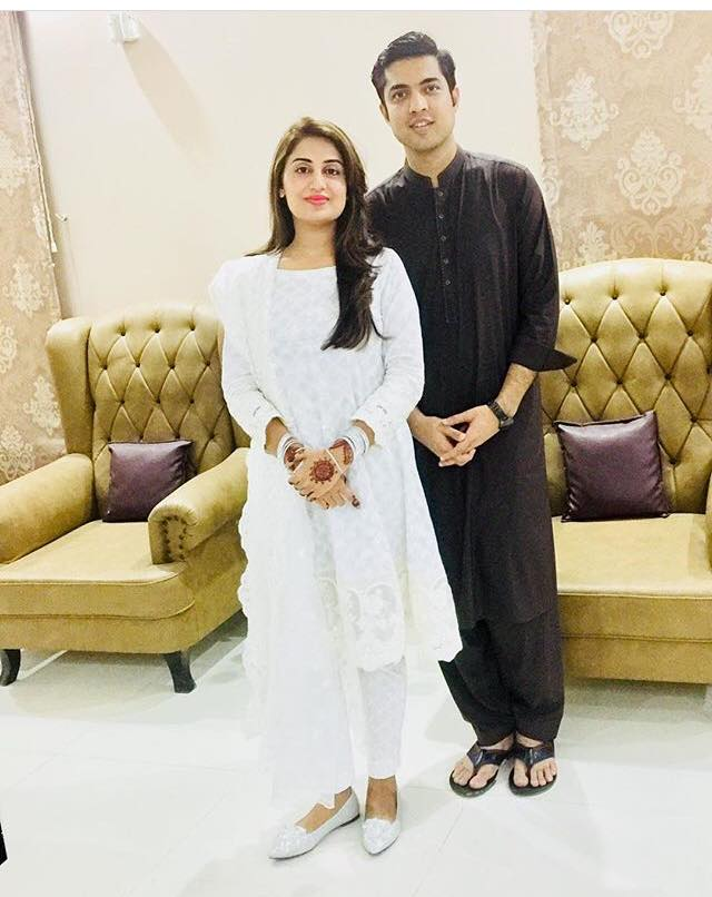 Iqrar Ul Hassan Celebrates Eid With His Wife