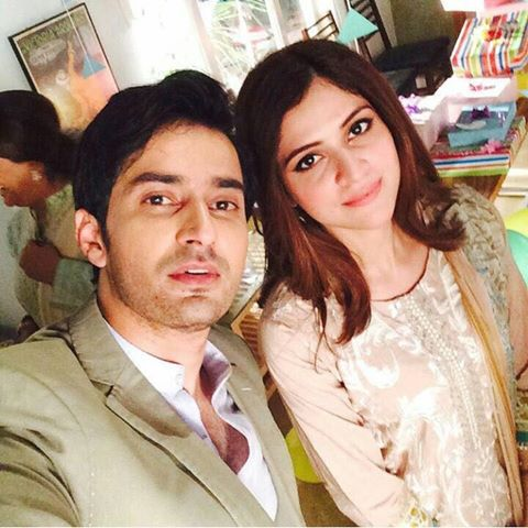 Jahanzeb Khan With Arij Fatyma