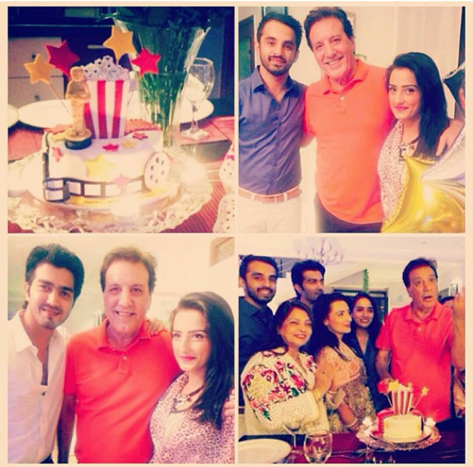 Javaid Sheikh Birthday Celebration With Family