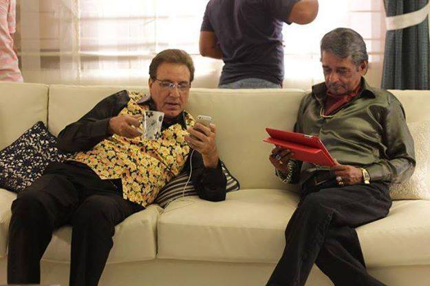 Javed Sheikh And Ismail Tara In Movie HALLA GULLLA