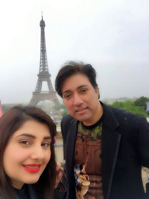 Javeria And Saud In Paris