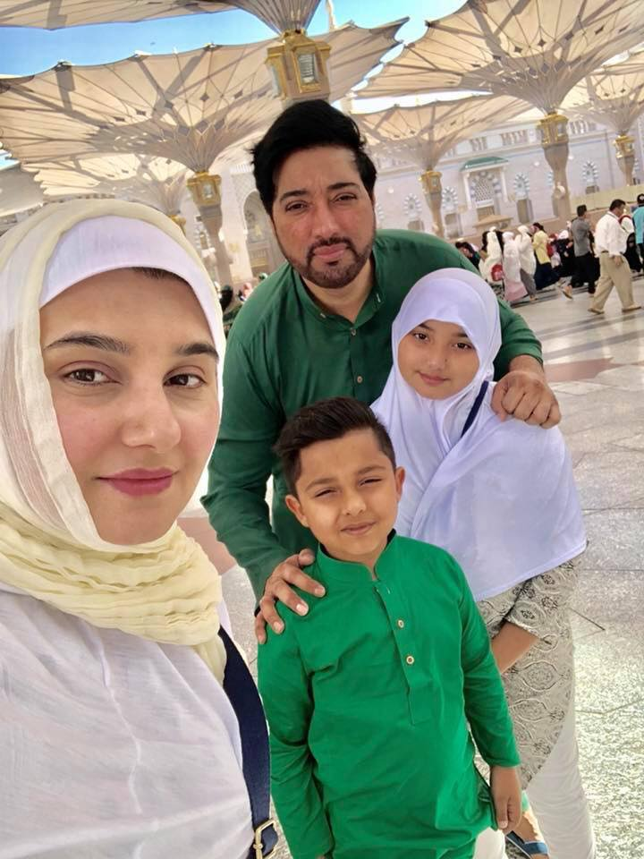 Javeria Saud With Her Family In Medina