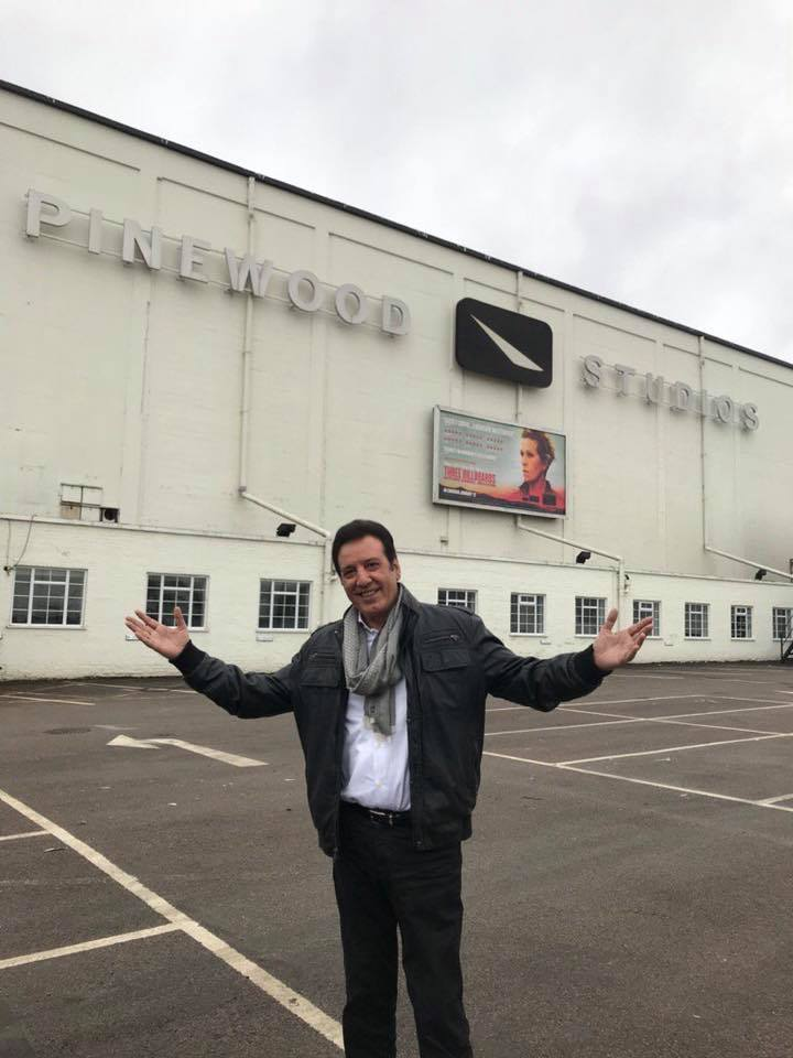 Jawed Shiekh Spotted At Pinewood Studios In London