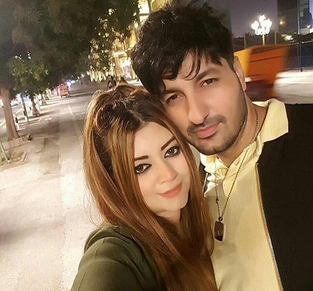 Jibran Syed With His Wife