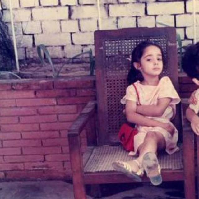 Juggan Kazim Childhood Photo