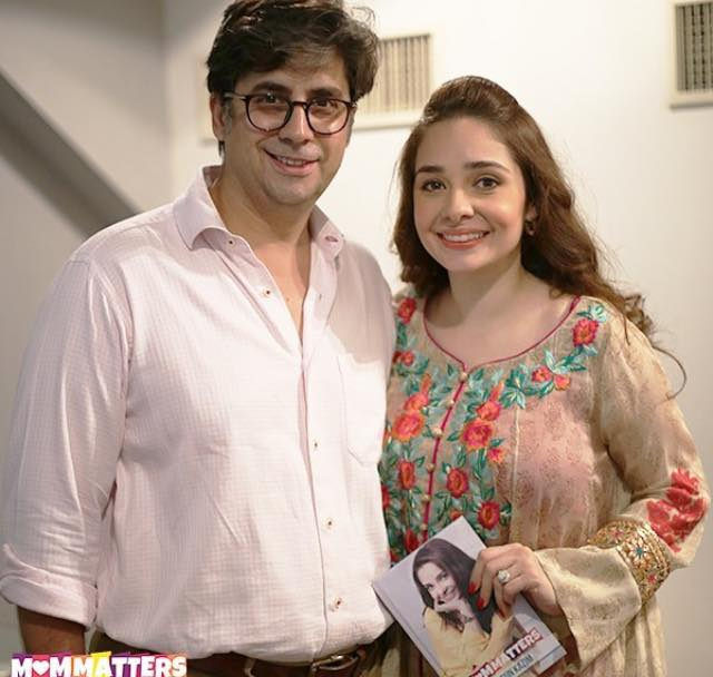 Juggan Kazim & Her Husband