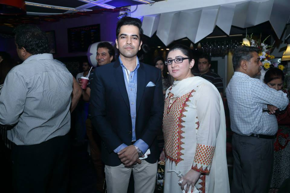 Junaid Khan With Wife At Premier Of Film O21