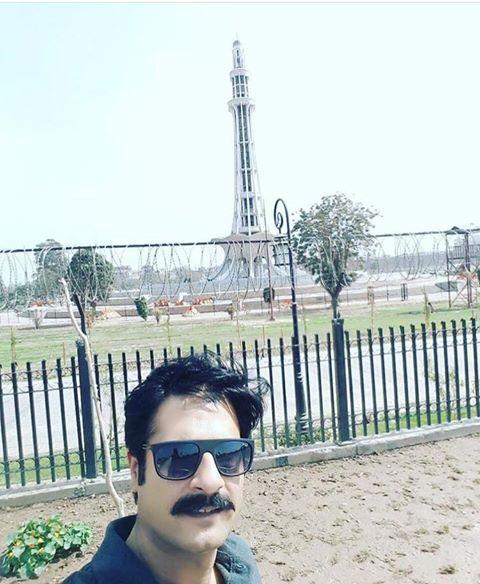 Kamran Jeelani At Minar e Pakistan