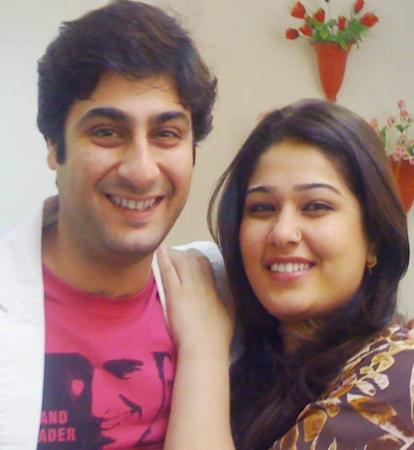Kamran Jilani With His Wife Fatima