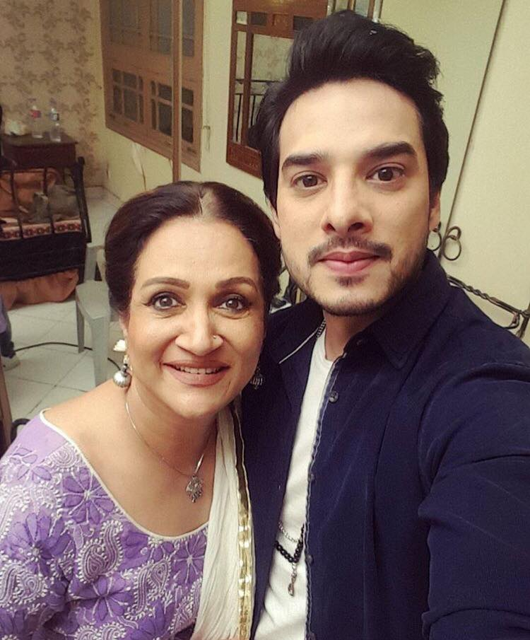 Kanwar Arsalan With Bushra Ansari